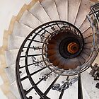 Spiral Staircase II, St Stephen's Basilica, Budapest by Ludwig Wagner