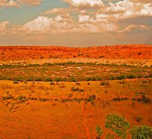 Wolfe Creek Crater by threewisefrogs