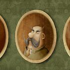 Moustaches by poodlesoup