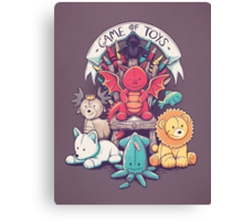 Game Of Toys Canvas Print