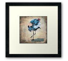 The Dancing Crane Framed Print