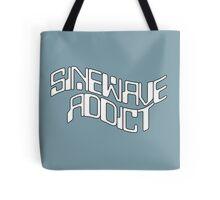 Sine Wave Addict Tote Bag