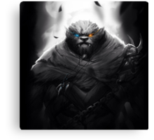 Rengar - League of Legends Canvas Print
