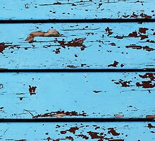 Blue Wooden Planks by ngdesign81