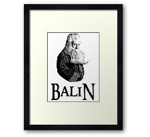 Balin Portrait Framed Print