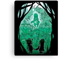 Gravity Falls - Face your Villains Canvas Print