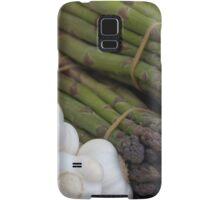 asparagus and onions Samsung Galaxy Case/Skin