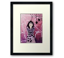 THE FEAR TAKES HOLD Framed Print