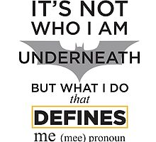 Batman identity quotes by toughandtender