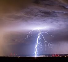 Lightning Strikes Following the Rain  by Bo Insogna