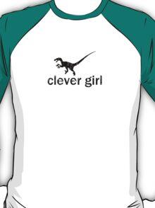 Clever Girl (Black) - Jurassic Park T-Shirt