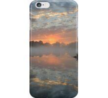 Heron Pond Sunrise iPhone Case/Skin