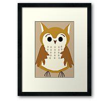 Funky Owl Framed Print