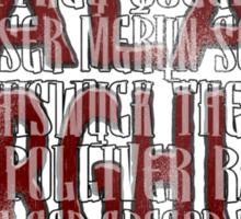 Arya's Prayer Sticker