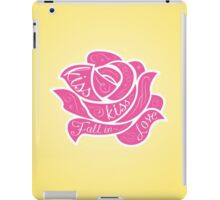 Kiss Kiss Fall in Love iPad Case/Skin