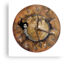 Counting Out Time Metal Print