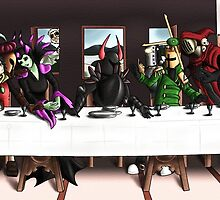 Order of No Quarter: Last Supper by littlebitmousey