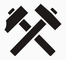 Hammer pick crossed by Designzz