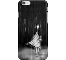 ... as the rain fell on me iPhone Case/Skin