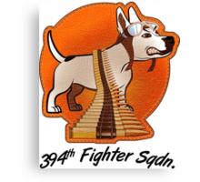 394th Fighter Sqdn. Canvas Print