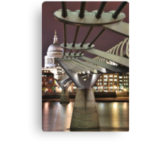 Inspiring Bridge Canvas Print