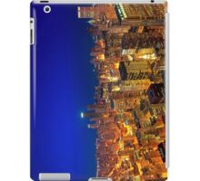 Golden Valleys - Chicago Skyline at Dusk iPad Case/Skin