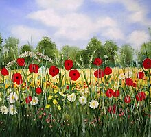 Summer Meadow by Sarah King