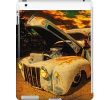 Sunset At The Blanco River iPad Case/Skin