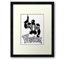 Agent V. Framed Print