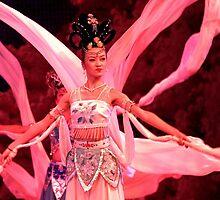 White Sleeve Dance - Xi'an, China by Alex Zuccarelli