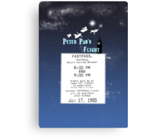 Peter Pan's Flight- Fastpass Canvas Print