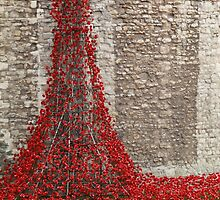The Tower of London - Poppies by PoppyCarter