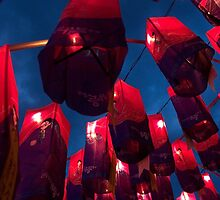 Namgang Lanterns - Jinju, South Korea by Alex Zuccarelli