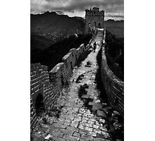 Great Wall Solitude - Miyun, China Photographic Print