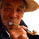 Smoking Man - Beijing, China by Alex Zuccarelli
