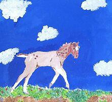 Roan Foal by cmoartist2012