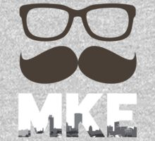 MustacheMKE T-Shirt | Wear Your Milwaukee Pride by Chris Connell