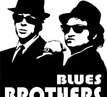 The Blues Brothers - Elwood & Jake by gueguette