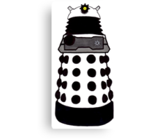 Transparent Dalek--New Paradigm. Canvas Print