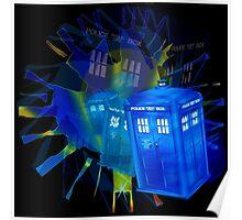 TARDIS STONEHENGE PORTAL Poster