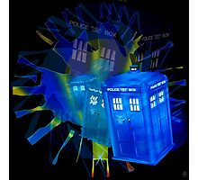 TARDIS STONEHENGE PORTAL Photographic Print
