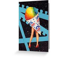 My Fair Ladies- Snow Cone Greeting Card