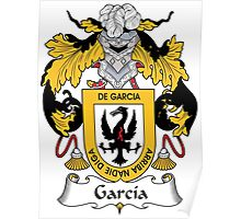 Garcia Coat of Arms I (Spanish) Poster
