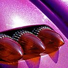 Bullet tail lights and purple metal flake by Norman Repacholi