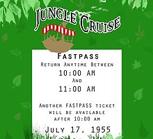 Jungle Cruise Fastpass by Margybear