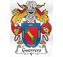 Guerrero Coat of Arms (Spanish) Poster