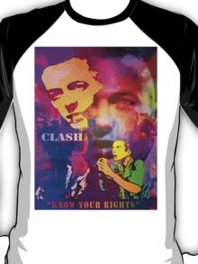 CLASH KNOW YOUR RIGHTS T-Shirt
