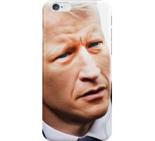 """These Eyes are A National Treasure"" [ Anderson Cooper ] iPhone Case/Skin"