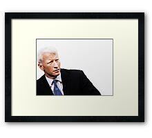 """These Eyes are A National Treasure"" [ Anderson Cooper ] Framed Print"