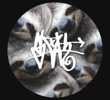Sloth Graffiti by trillful